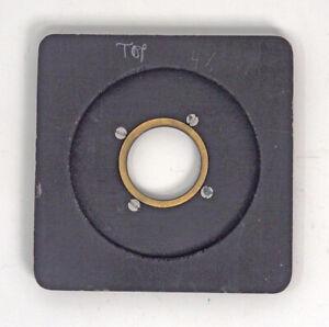 Deardorff-Special-4X5-5X7-Lens-Board-amp-Flange-For-0-Shutter