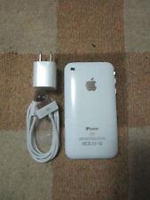 APPLE IPhone 3GS - White/Black-16GB-Factory Unlocked-Smartphone-Good Condition .