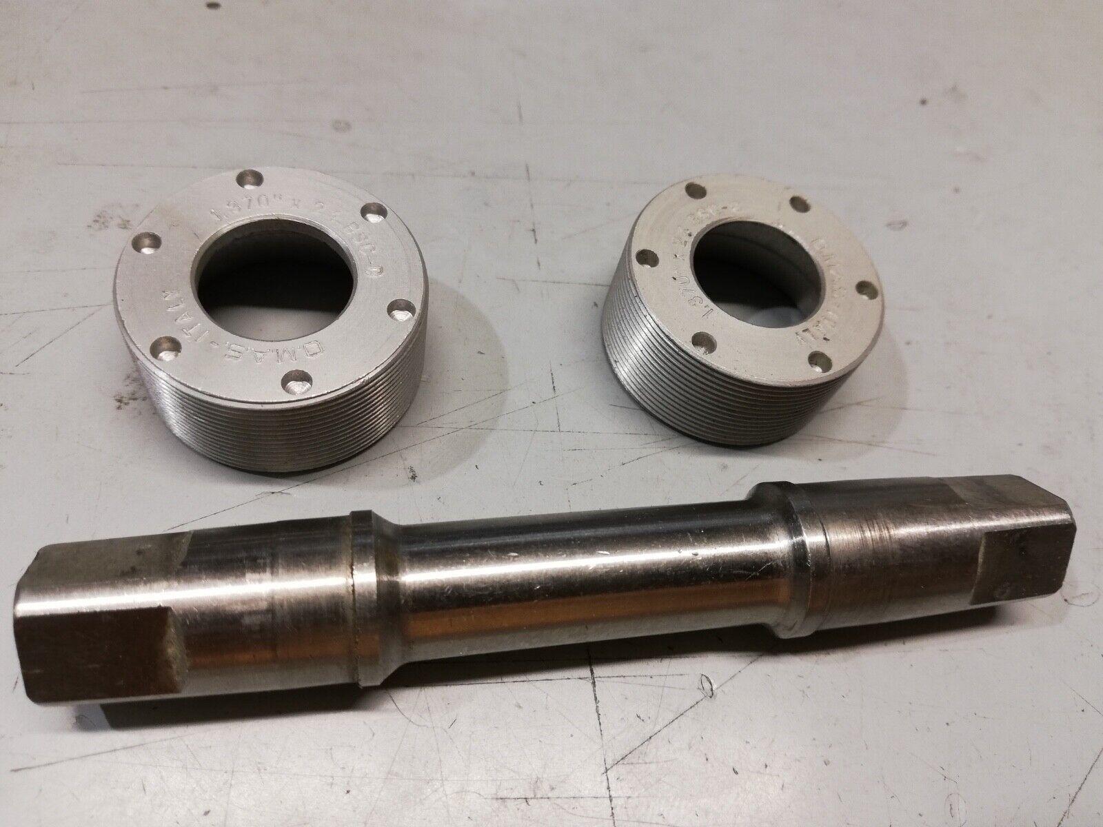 NOS, OMAS Made In  Titanium B.B. Spindle + 36x24f Aluminum Cups