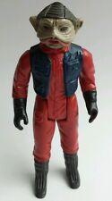 "Nien Nunb Pilot Hong Kong Star Wars Vintage 3.75"" 1983 Fish Lips rotj B"