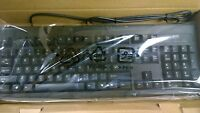 Lot Of 10 Wyse Technology Black Wired Ps/2 Keyboard 770413-01l - Free Ship