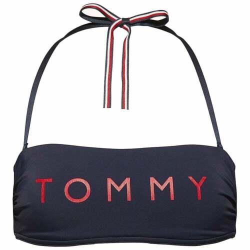 Blu Navy Blazer Costumi da bagno da donna Tommy Hilfiger Donna Essenziale top bikini