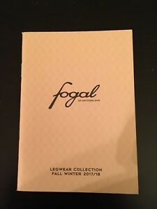 FOGAL-of-Switzerland-Hosiery-Collection-F-W-17-18-Long-Sexy-legs-OOP-HTF