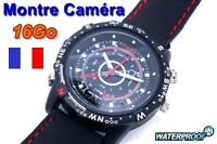 Montre Camera Espion Cachee Waterproof 16go 16gb Photo Video Hd Micro Audio