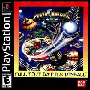 Power-Rangers-Zeo-Full-Tilt-Pinball-PS1-Complete