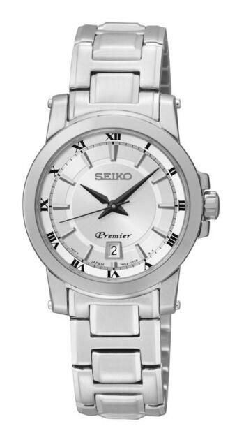 Seiko SXDF41 SXDF41P1 PREMIER SERIES Ladies Watch WR100m NEW RRP $695.00