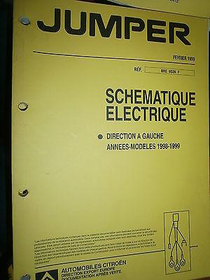schémas électrique 1999 Citroën JUMPER