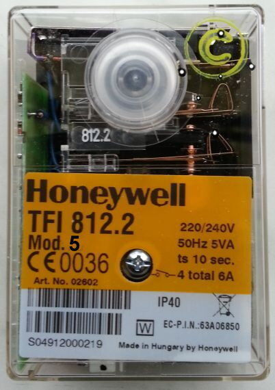 Honeywell Steuergerät Satronic TFI812.2 Mod. 5 Nachfolger Satronic DKG 972 NEU