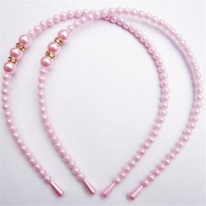 Girl-Pearl-Hairband-Crystal-Jewelry-Bead-Princess-Headband-Hair-Band-Accessor-amp-y