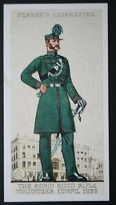 Robin-Hood-Rifle-Volunteer-Corps-The-Sherwood-Foresters-Vintage-Card