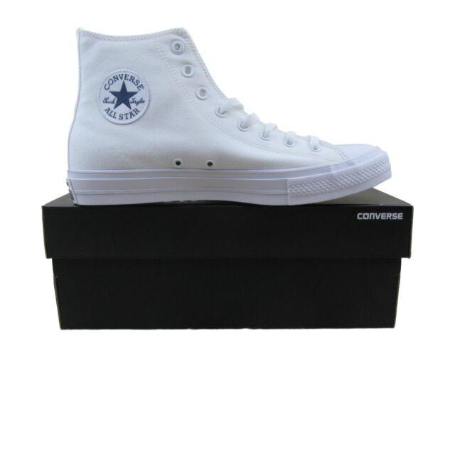 c559b1f1561462 Converse Chuck Taylor All Star II Hi Shoes Lunarlon White 150148C Multi Size