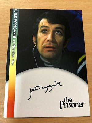 CHRISTOPHER BENJAMIN AS NUMBER TWO/'S ASSISTANT CB2 THE PRISONER AUTOGRAPH CARD