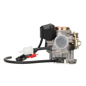 GY6-Carburetor-49cc-50cc-Scooter-Moped-PD18J-Carb-QMB139-4-Stroke-Cycle-Engine