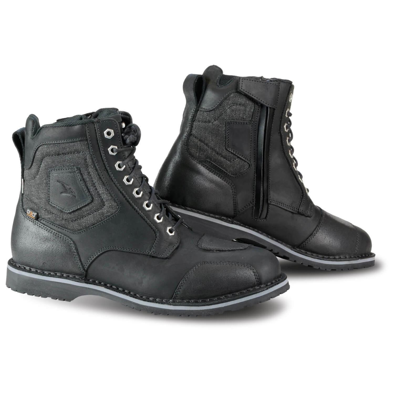 Falco Ranger Men's Urban Motorcycle Boots short Shaft Waterproof - Black