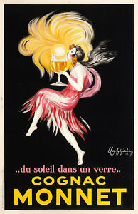vintage advert french champagne  Large art  A1 A2  print painting chablisienne