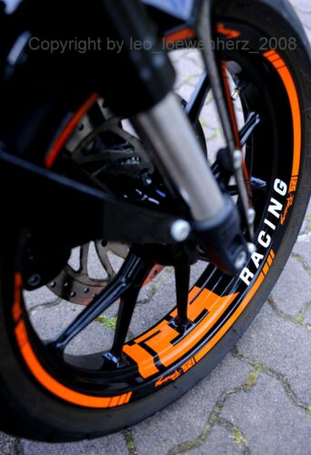 Wheel Sticker KTM Duke RC 125 200 250 390 Rim Stripes Decal Tatoo TOMTEC-Racing