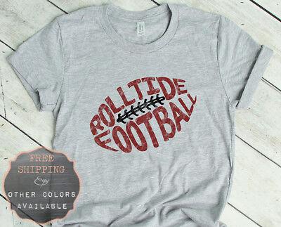 Roll Tide Roll Alabama Football Graphic Long Sleeve Printed Sweatshirt Shirt
