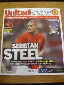 26-08-2007-Manchester-United-v-Tottenham-Hotspur-Thanks-for-viewing-our-item