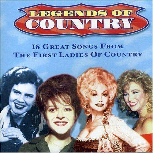 Legends of Country (18 tracks) Billie Jo Spears, Brenda Lee, Patsy Cline,.. [CD]