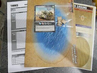tokens Tanks GF9 GaleForce terrain upgrade card Desert Fox OP kit month 2