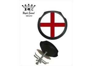 Royale Black Car Grill Badge & Fittings - Saint George England  B2B.2212