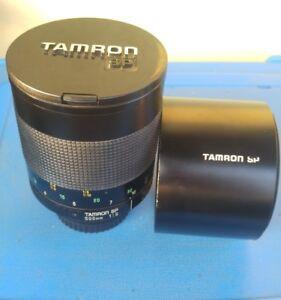 Tamron-SP-Adaptall-500mm-f-8-con-adattatore-Canon-usato-adattabile-a-ogni-marca