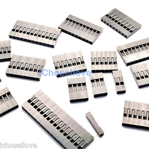 100Pcs Head Header Pin Connector Housing For Dupont Wire Jumper 2.54mm Pitch