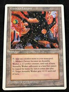 Fábrica Mishra/'s Sp//Pl 4th Edição Mtg Magic The Gathering Land Cartão Inglês