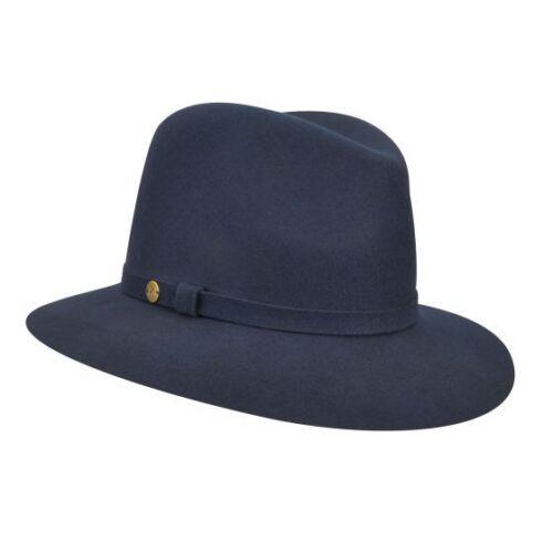 Choose SZ//Color Karen Kane Women/'s Raw Edge Trilby Hat