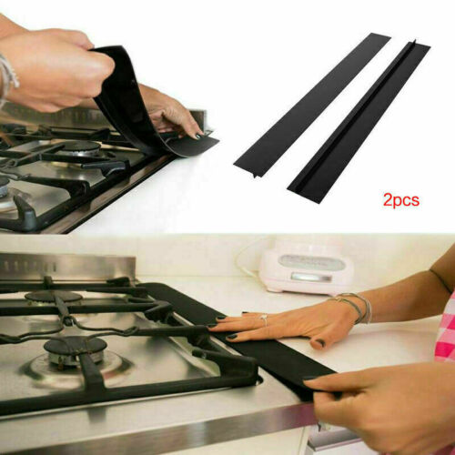 Reusable Gas Range Stove Top Burner Protector Cover Clean Kitchen Counter Gap