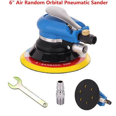 6/'/' Pneumatic Disc Polisher Hand Power Grinding Sanding Tool For Car Body Orbit