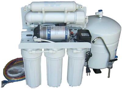 Aquafilter 7 Stage Osmose Inverse Système avec pompe 75GPD pour eau potable FL