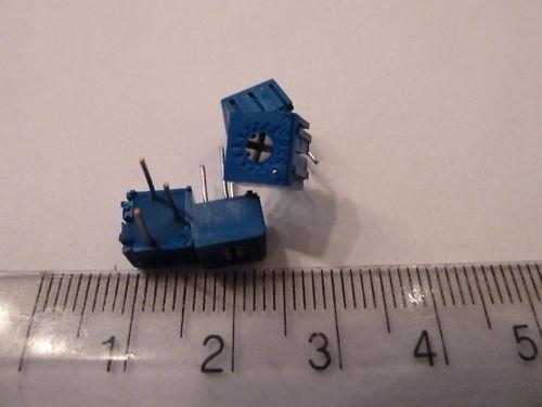 4 resistencias de Miniatura singleturn Trimmer superior a prueba de explosión 5K