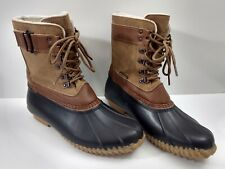 JBU By Jambu Women/'s Calgary Traditional Lace-Up Duck Boots Brown//Whiskey