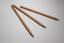 crayon-a-papier-HB-en-bois-de-cedre-non-verni-Lot-de-3-Ideal-pour-les-enfants miniature 2