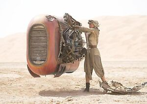 Daisy Ridley Rey Poster Star Wars Movie Quality Large FREE P+P CHOOSE YOUR SIZE