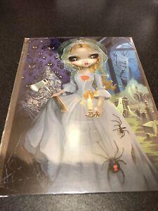 NEW Disney WonderGround The Bride Returns Jasmine Becket-Griffith 5x7 Postcard