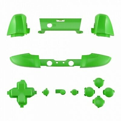 Xbox One S Controller Green Full Button Replacement Kit Abxy Trigger D-pad Lb Rb
