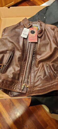 Schott perfecto vintage leather motorcycle jacket