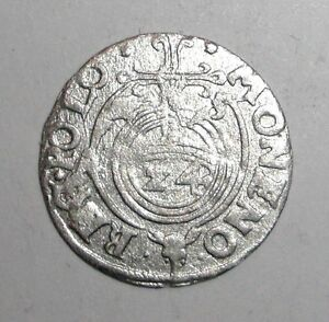 1625-Medieval-Poland-Sigismund-III-1587-1632-AR-Polker