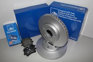 ATE Bremsscheiben + Ceramic Beläge Vorderachse(VA) für VW NEW BEETLE Cabriolet (
