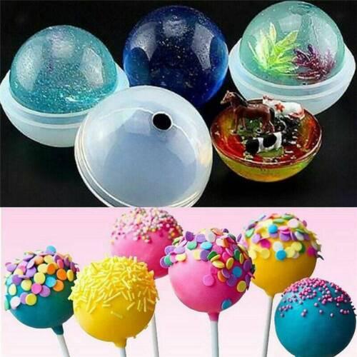 Globe Sphere Ball Silicone Mold 30-60mm Resin UV Resin Epoxy DIY Jewelry Making
