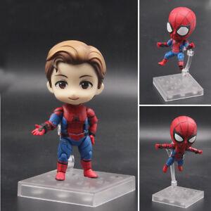 Marvel-Spider-Man-Heimkehr-Cute-Nendoroid-781-PVC-Figur-Sammlerstueck-Modell-Spielzeug