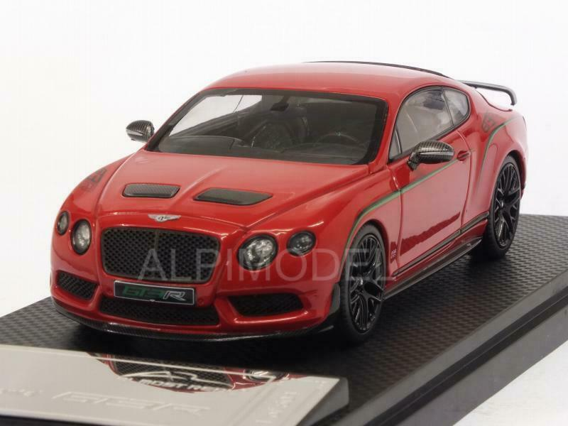 Bentley Continental GT3R 2015 Red 1:43 ALMOST REAL 430402