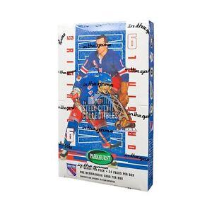 2003-04-In-The-Game-Parkhurst-Original-6-New-York-Rangers-Hockey-Hobby-Box