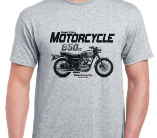 Kawasaki W650 2002 inspired motorcycle motorbike bike shirt tshirt