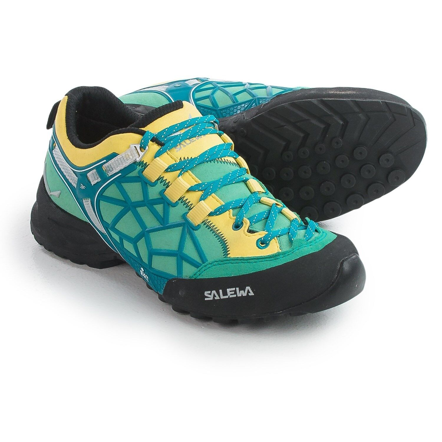 New Donna`s Salewa Wildfire Pro Hiking Shoes MSRP 200