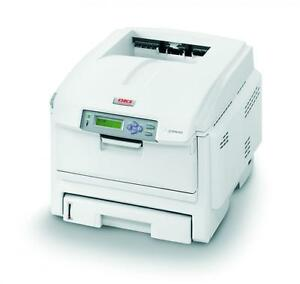 Oki-C5600n-C5600-n-A4-Network-Colour-Laser-LED-Printer-NOT-C5650n-JM-50-cons