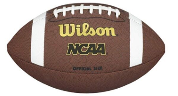 Case of (6) new Wilson Team Sports WTF1662ID NCAA TDY Youth Composite Footballs