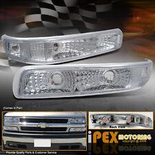 1999-2002 Chevy Silverado 1500 2500 Front Bumper Turn Signal Parking Lights Lamp